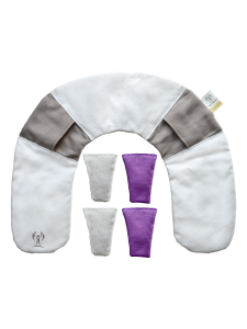 LichtWesen neck cushion incl. double pack rock crystal bags