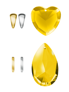 Crystals Yellow