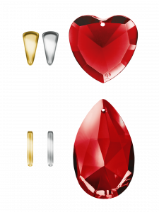 Crystals Red