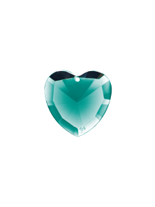 Elohim Turquoise crystal heart