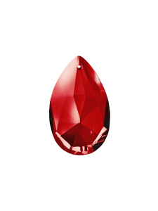 Creation Ray Red crystal droplets
